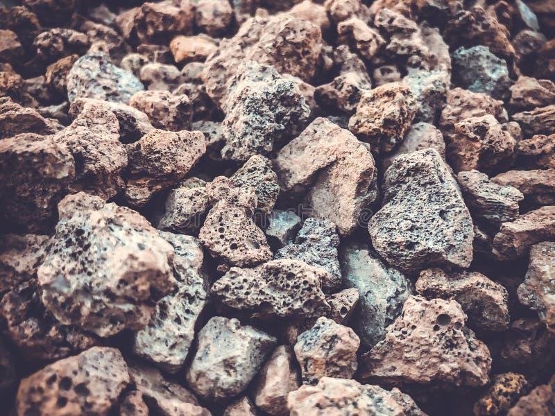 Texture de roche de fond de pile de roche Petites pierres images libres de droits