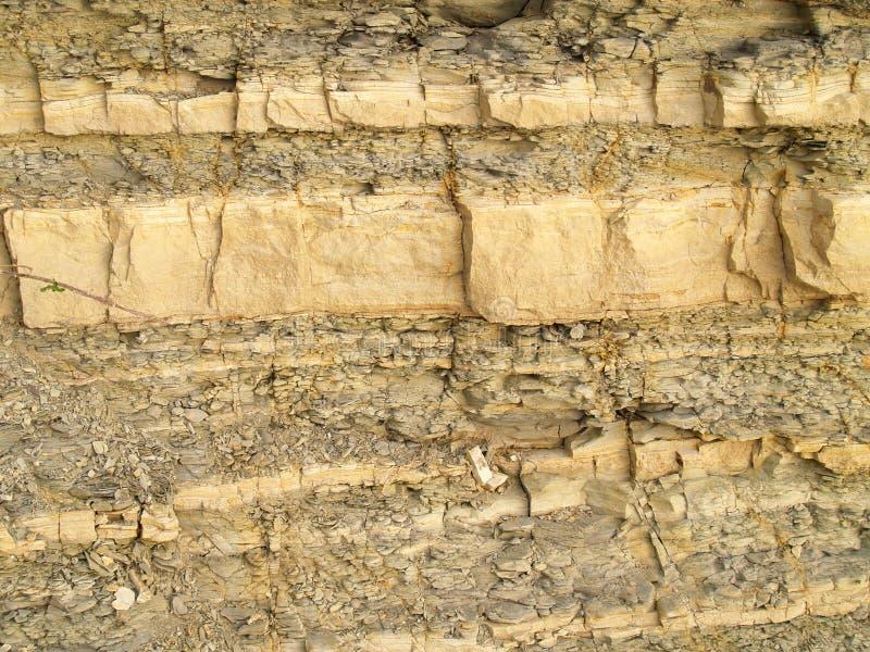 Texture de roche schisteuse images libres de droits