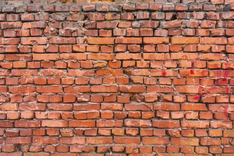 Texture de rouge de brique comme fond images stock