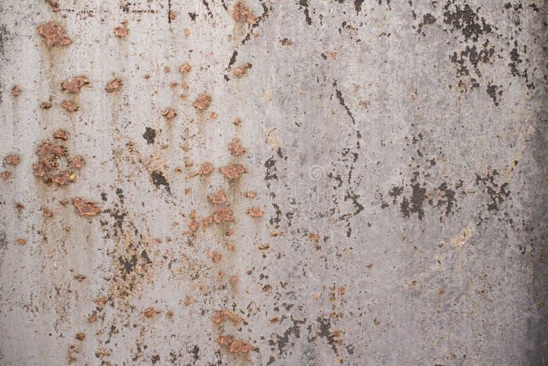 Texture de rouille en tant que fond de plaque métallique photo libre de droits