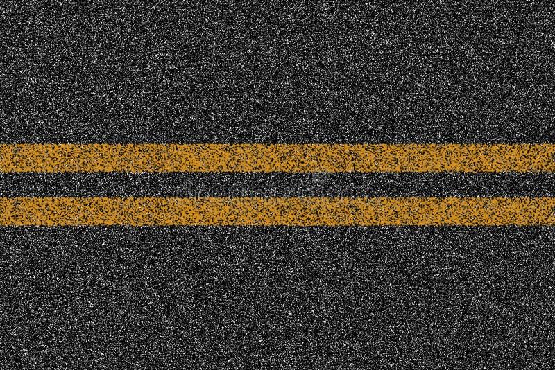 Texture de route de route d'asphalte avec des inscriptions illustration stock