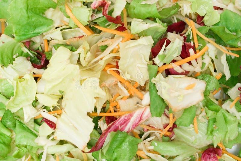 Texture de salade mixte photo libre de droits