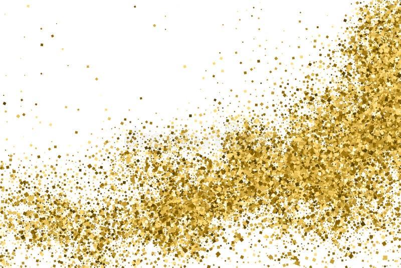 Texture de scintillement d'or image stock
