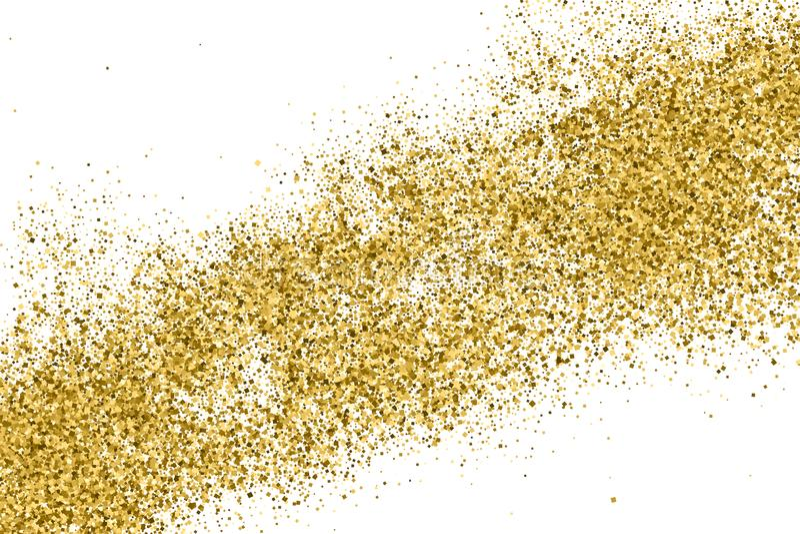 Texture de scintillement d'or photo libre de droits