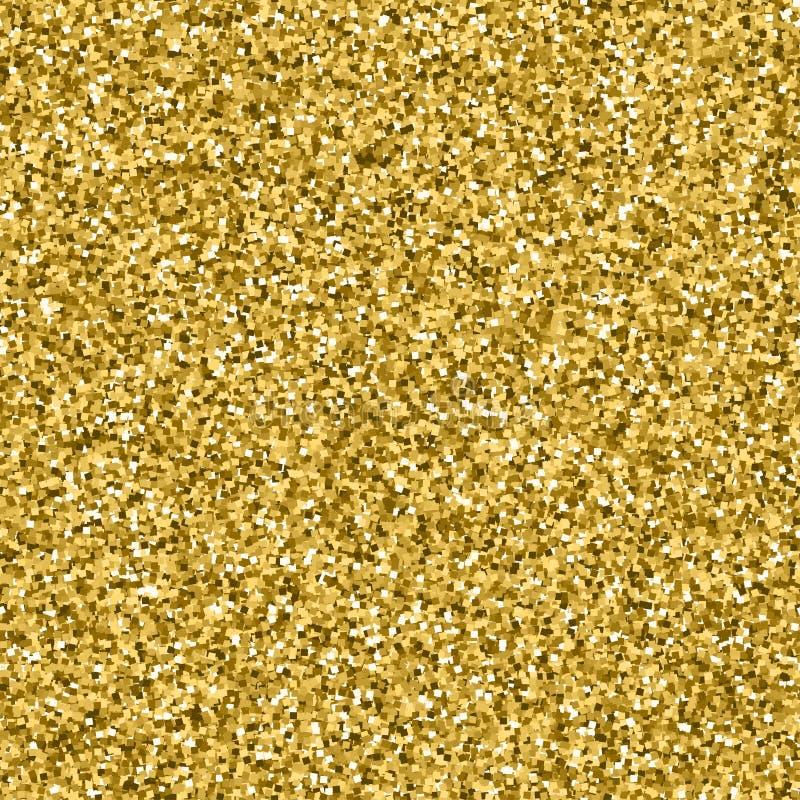 Texture de scintillement d'or images stock