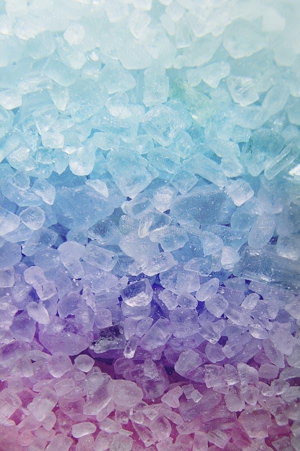 Texture de sel de Bath photographie stock
