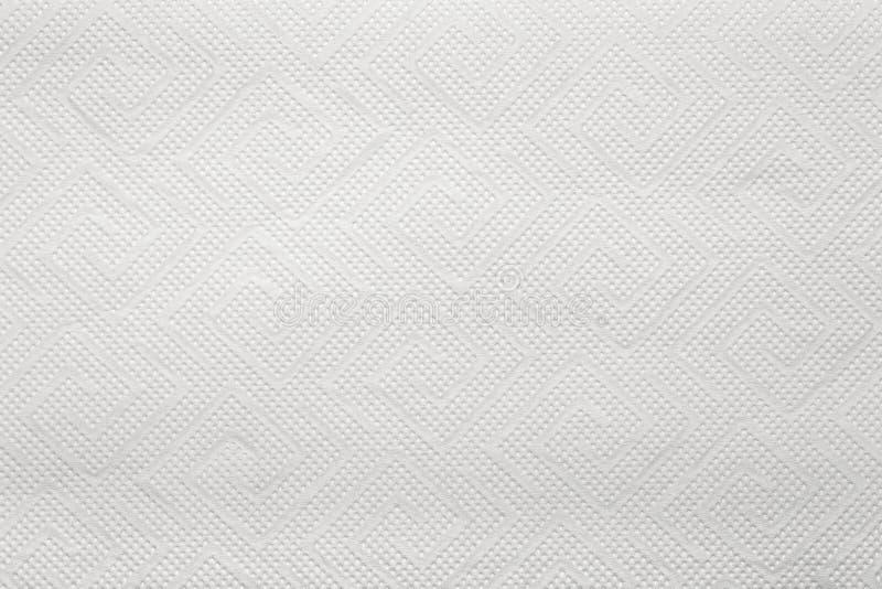 Texture de serviette de papier images stock