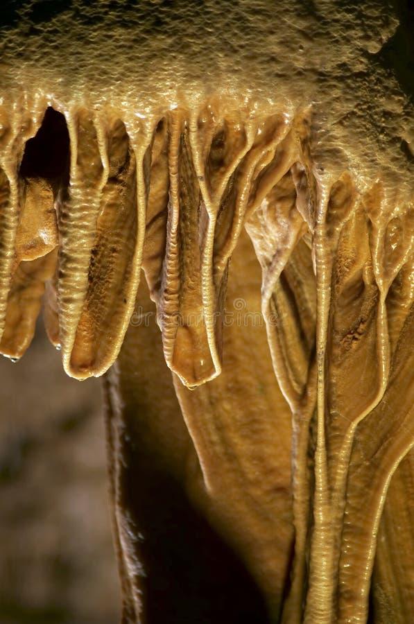 Texture de stalactites photo stock