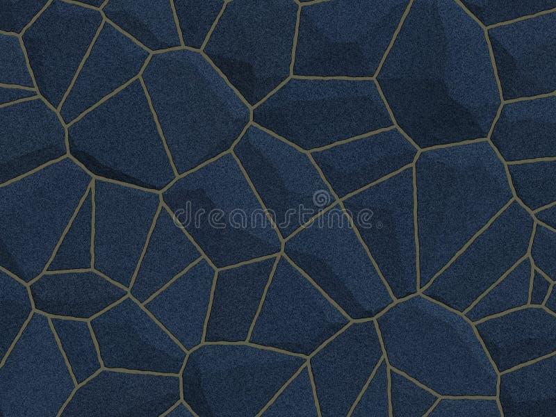 Texture de Stonewall - pierre bleue image stock