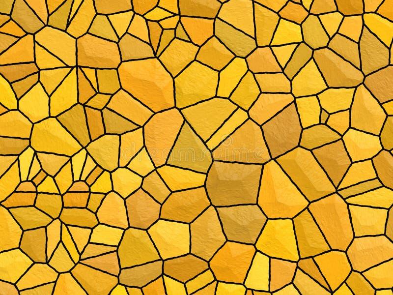 Texture de Stonewall - pierre orange photo stock