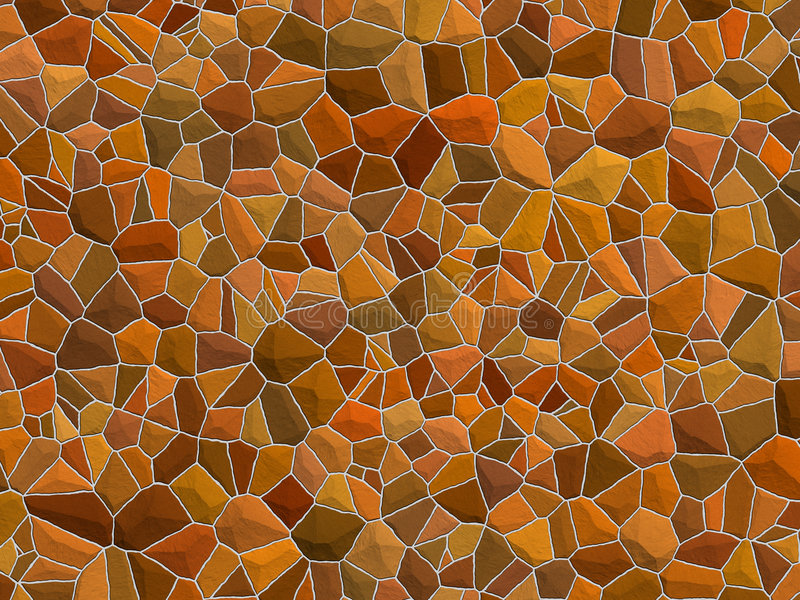 Texture de Stonewall - pierres brunes photographie stock