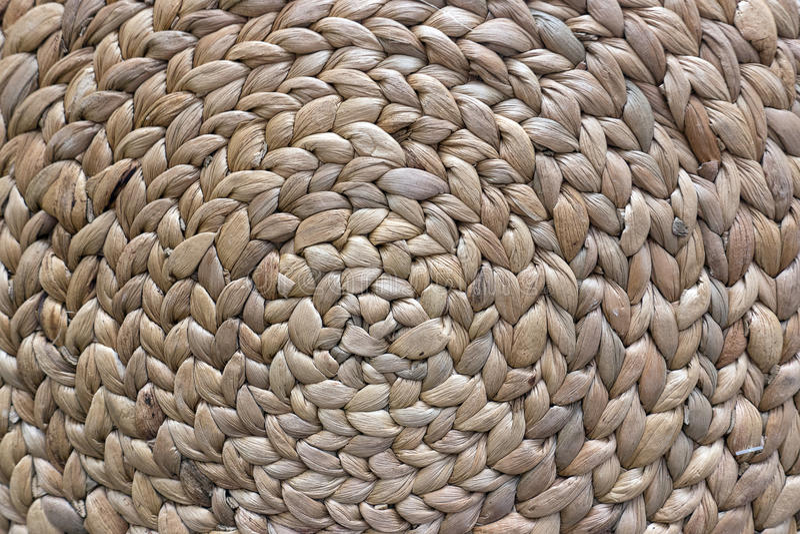 Texture de structure de panier en osier images stock