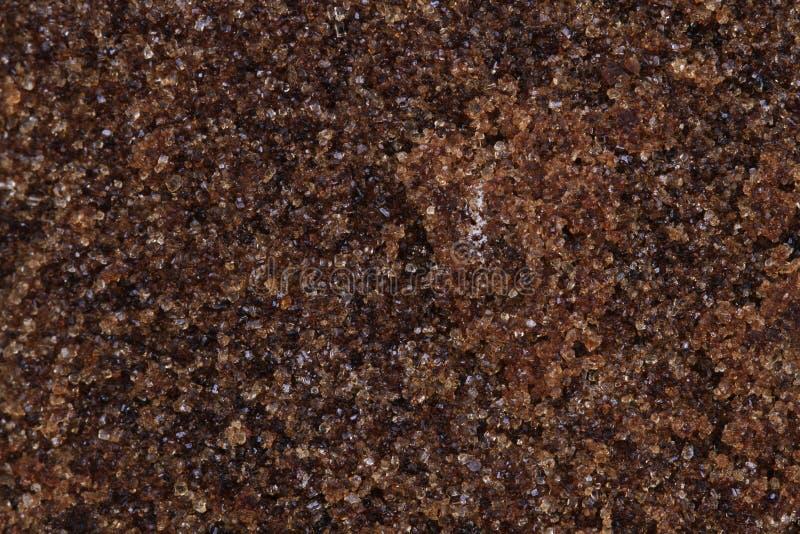 Texture de sucre roux photo libre de droits