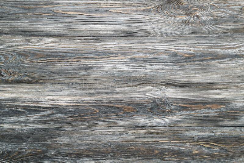 Texture de table en bois de planches de cru gris images stock