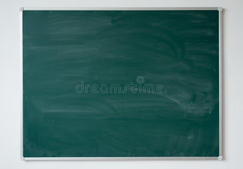Texture de tableau à l'arrière-plan de tableau noir d'école ou d'université de salle de classe photos libres de droits