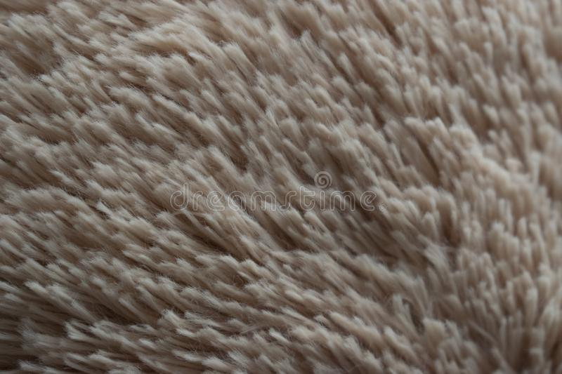 Texture de Tan Hair Fabric Teddy Bear photo libre de droits