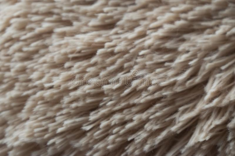 Texture de Tan Hair Fabric Teddy Bear photographie stock libre de droits