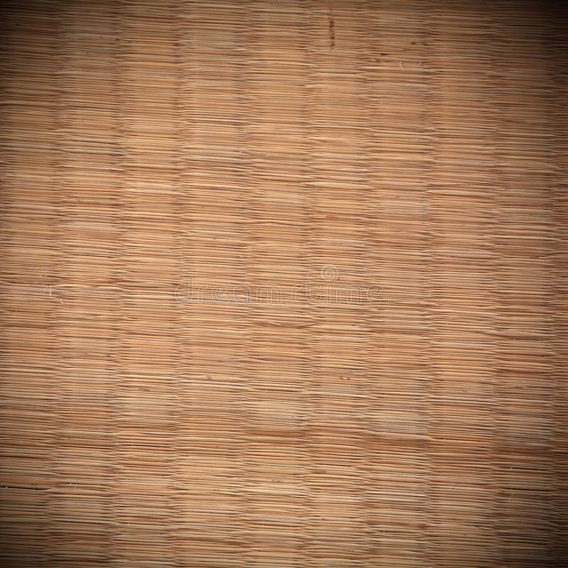 Texture de tapis de Tatami image stock