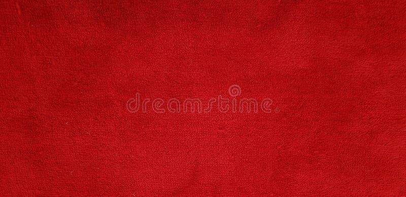 Texture de tapis rouge et détail de fond photographie stock