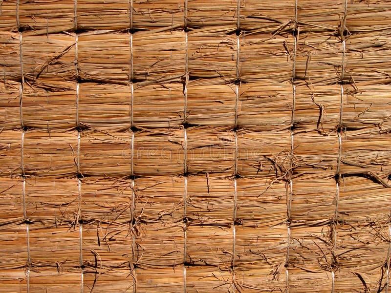 Texture de Tatami images stock