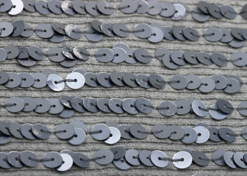 Texture de tissu avec des paillettes, sequin photo stock