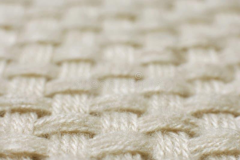 Texture de tissu d'armure de laines images libres de droits