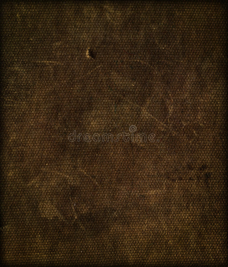 Texture de tissu de brun foncé image libre de droits