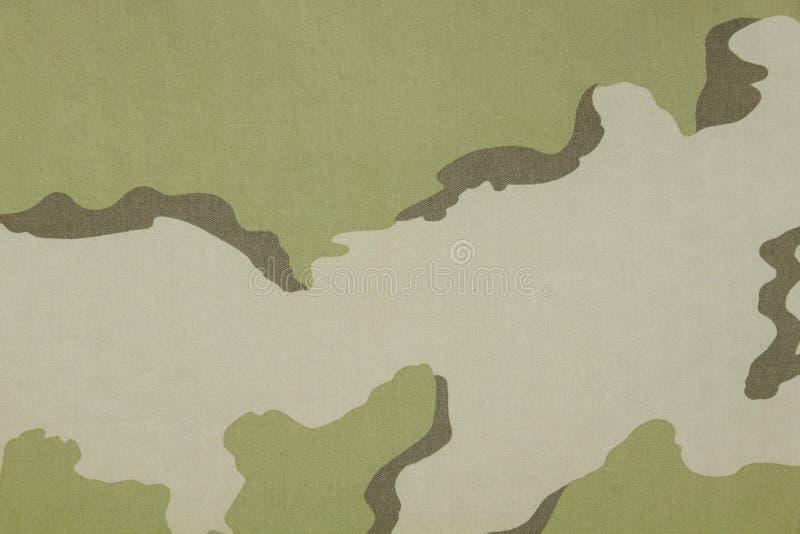 Texture de tissu de camouflage de désert de couleur de l'Inde trois image stock