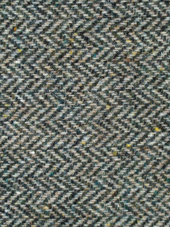 Texture de tissu de tweed images libres de droits