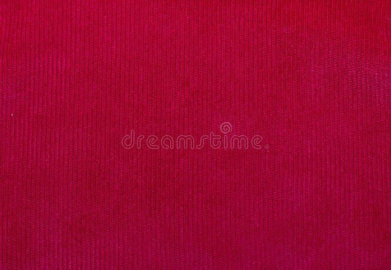 Texture de tissu de velours, rouge, pour des milieux photographie stock