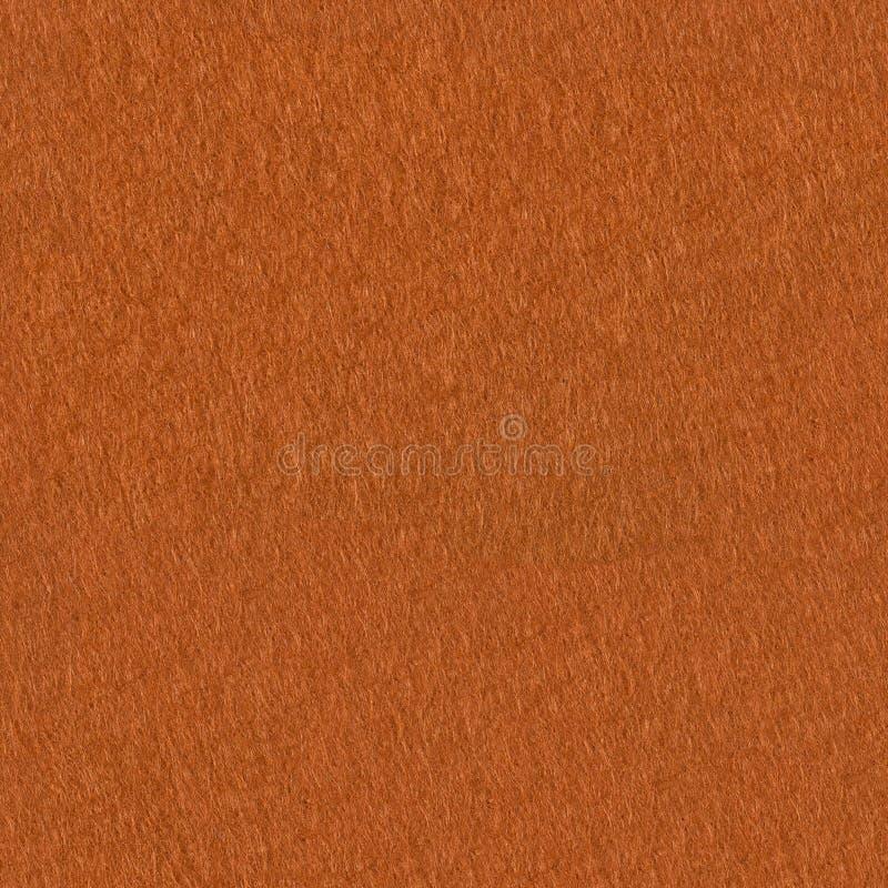 Texture de tissu de feutre d'orange Fond carré sans couture, rea de tuile photo libre de droits