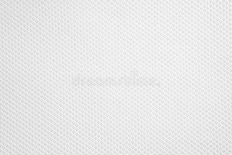 Texture de tissu synth?tique Fond du textile blanc photos libres de droits