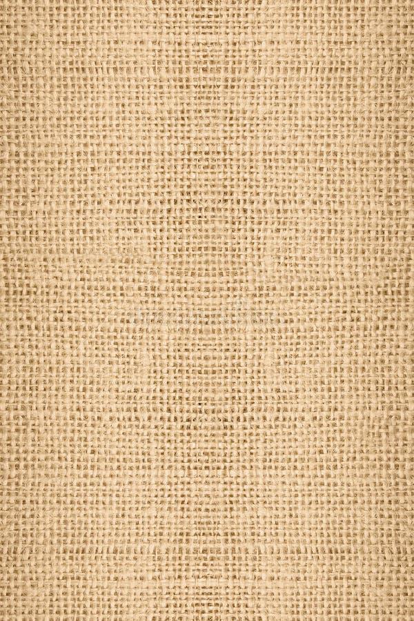 Texture de toile de jute de Tileable photographie stock libre de droits