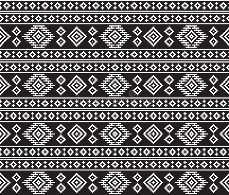 Texture de tribal d'Indiens d'Amerique illustration libre de droits