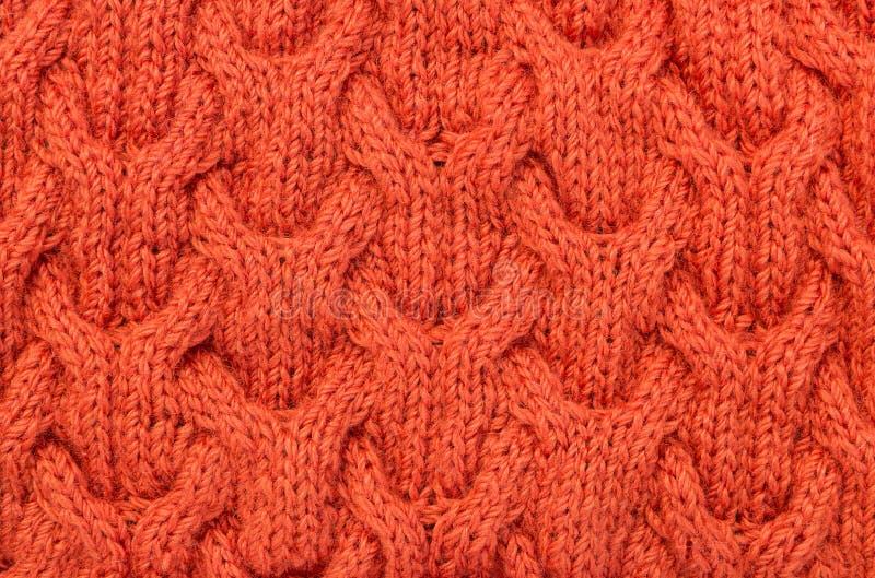 Texture de tricotage de fond images libres de droits