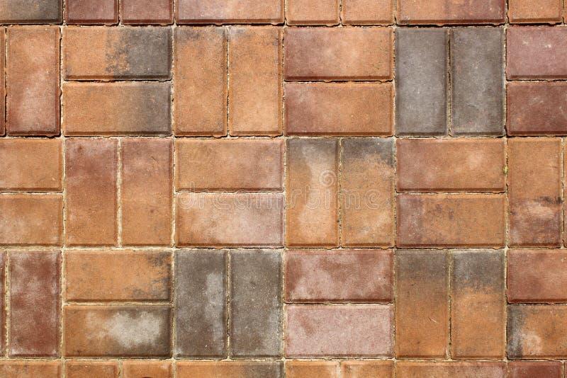 Texture de trottoir de couleur photos stock