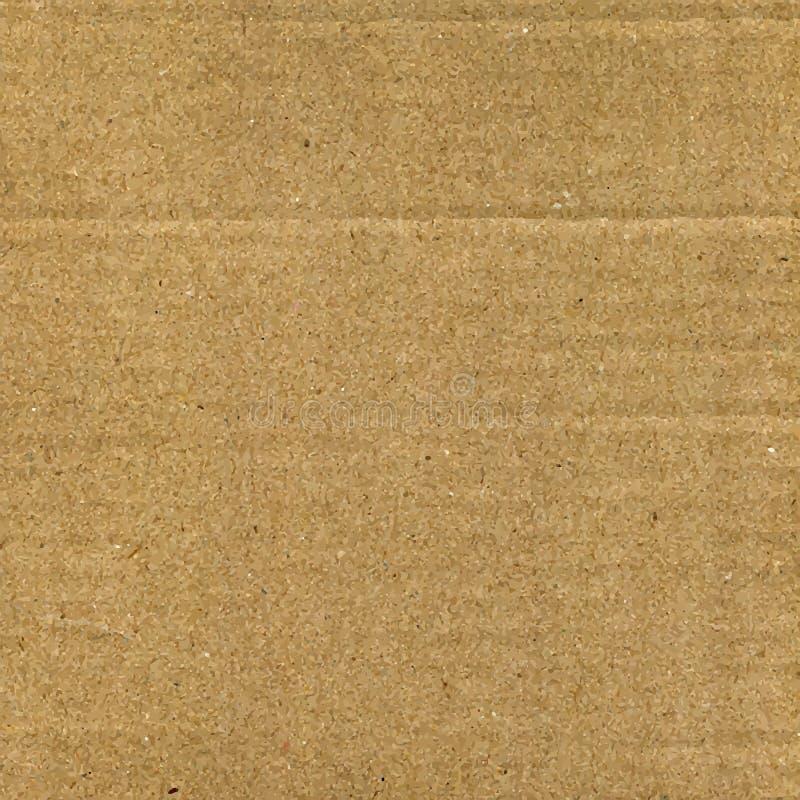 Texture de vecteur de carton illustration stock