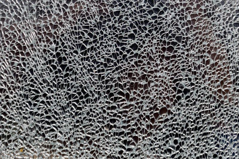 Texture de verre brisé photo stock