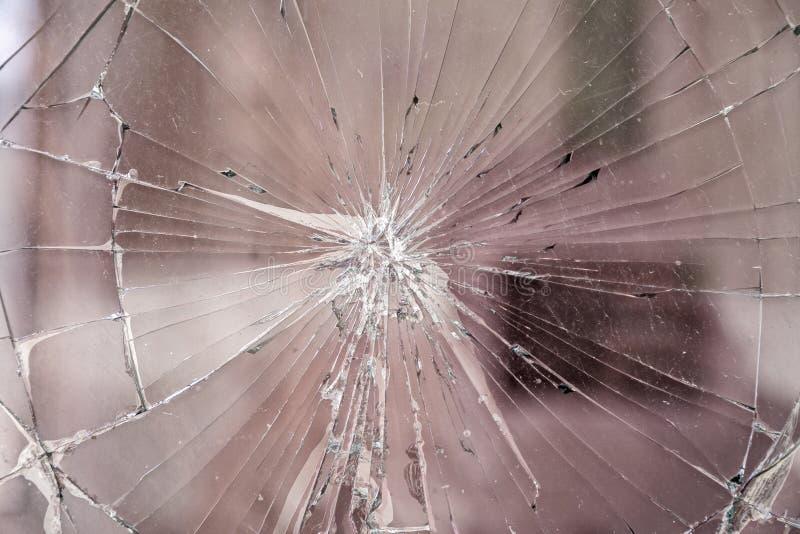 Texture de verre cassé photographie stock libre de droits