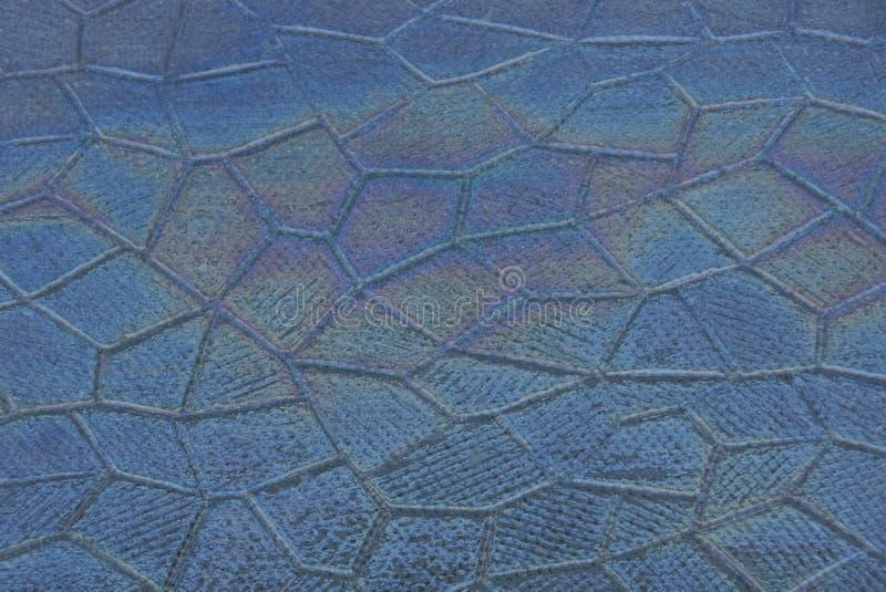 Texture de verre gris avec un modèle et une grande tache de couleur photo libre de droits
