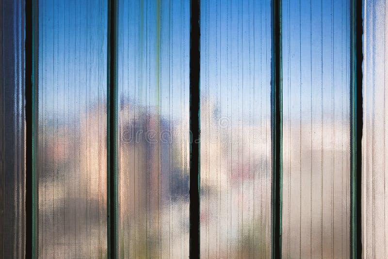 Texture de verre renforcé images stock