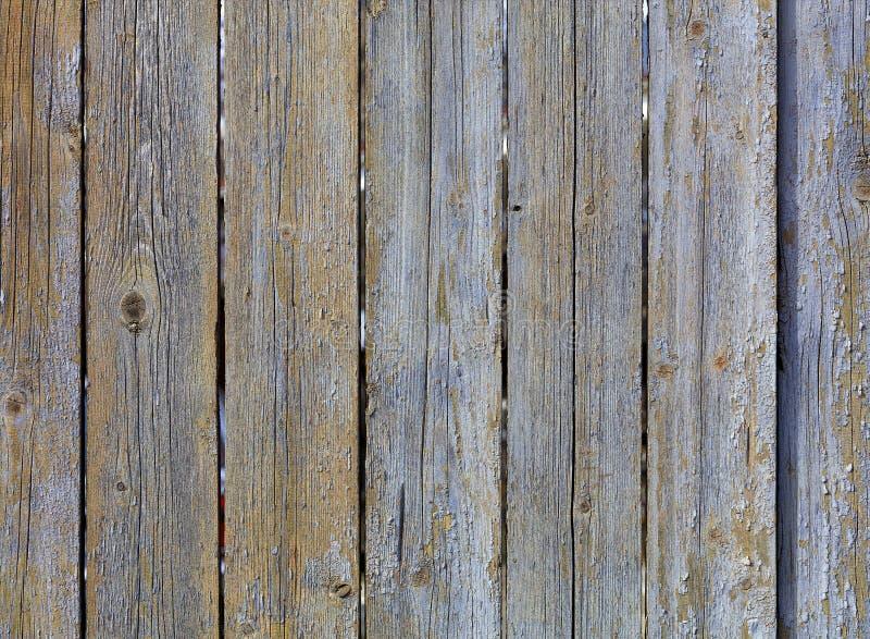 Texture de vieille barrière en bois grise superficielle par les agents images libres de droits