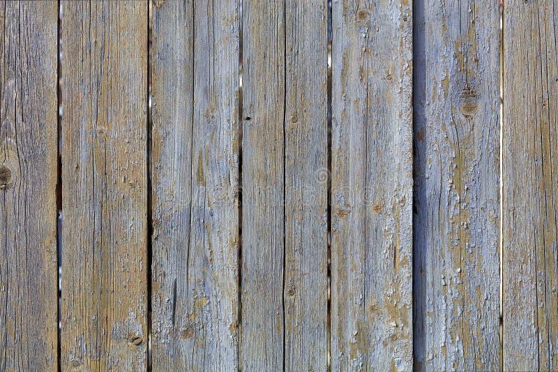 Texture de vieille barri?re en bois grise superficielle par les agents images stock