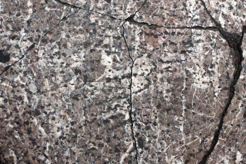 Texture de vieille dalle en pierre avec des fissures Nuances de gris photo libre de droits