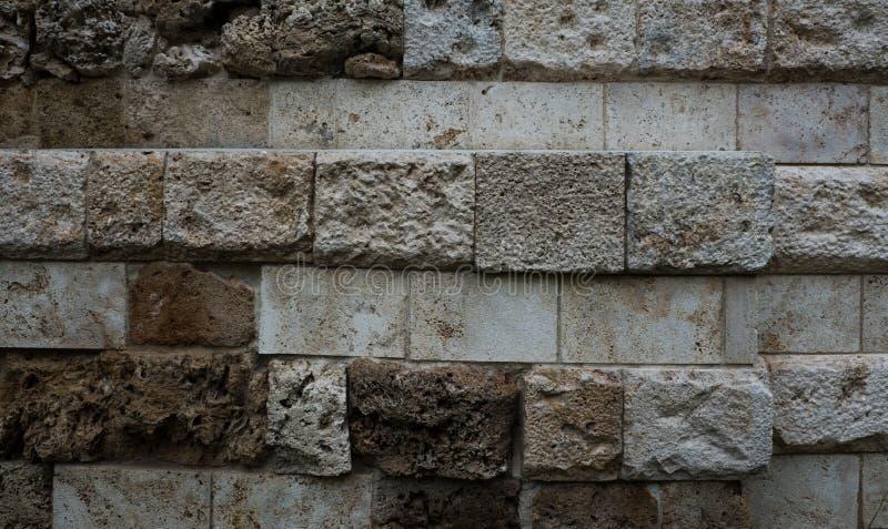 Texture de vieille pierre de chaux photo stock