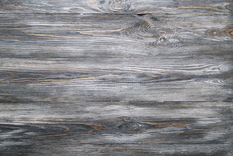 Texture de vieille table en bois grise de planches dans le styl rustique ou minable photos stock