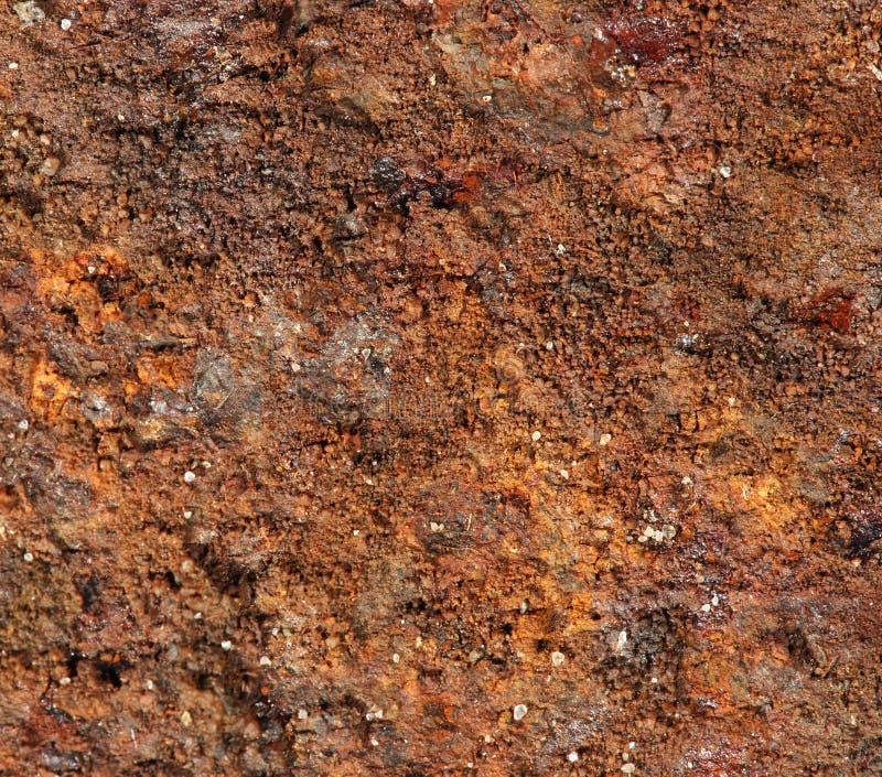 Texture de vieux métal ferrugineux image stock
