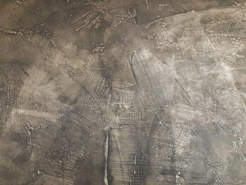 Texture de vieux mur en béton sale pour le fond, texture concrète grise photographie stock libre de droits