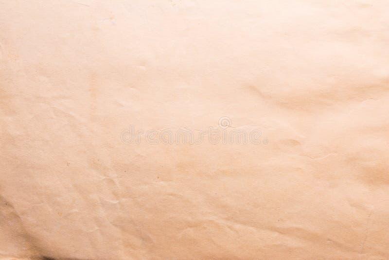 Texture de vieux papier minable et chiffonné, style de vintage, fond abstrait image stock