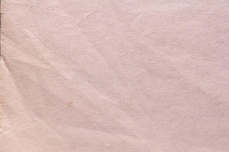 Texture de vieux papier minable et chiffonné, style de vintage, fond abstrait photos libres de droits